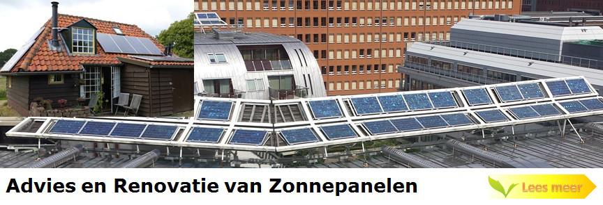 Advies en Renovatie van Zonnepanelen en Zonnestroominstallaties