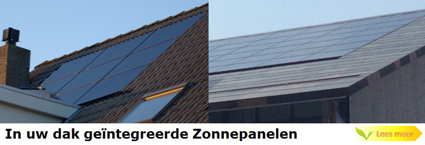 In dak geïntegreerde Zonnepanelen