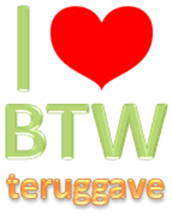 I love BTW teruggave